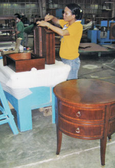 The Firm Has Been Assembling Furniture For 24 Years For Such Companies As  Ethan Allen, Henredon Direct, Century And McGuire.